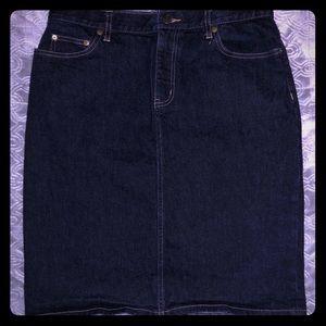 NWOT Ralph Lauren Jean Skirt!